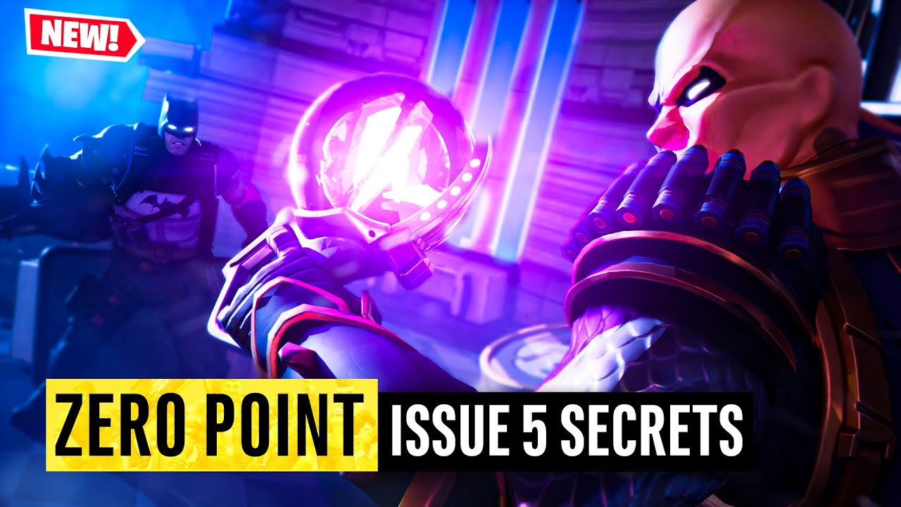 Batman Fortnite Zero Point Issue 5 | Easter Eggs and Details You Missed