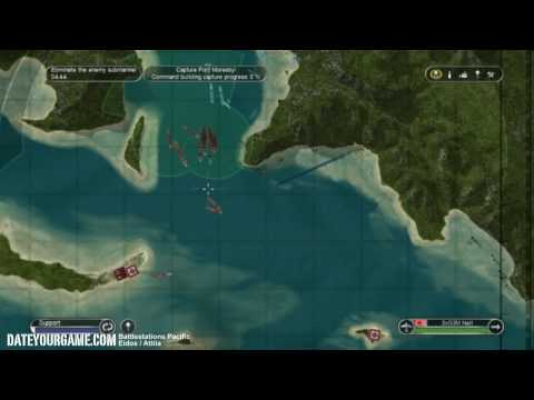Battlestations Pacific Walkthrough 5 Invasion of Port Moresby Gameplay HD