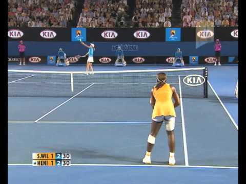 S. Williams v Henin: Australian Open 2010 Women's Final Highlights