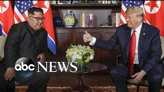 Trump and Kim Jong Un making history with their goals to denuclearize Korean Peninsula