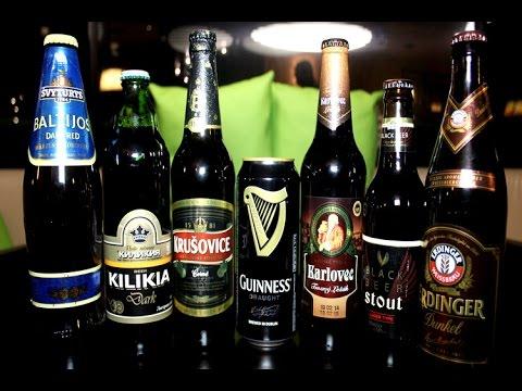 Обзор темного пива