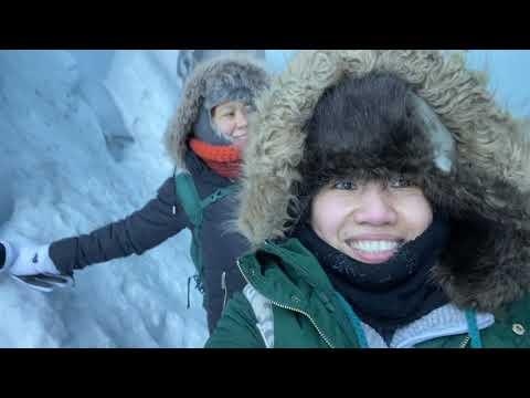 A day in Matanuska Glacier / Our life in Alaska
