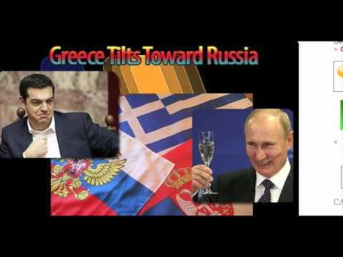 UNEXPECTED ALLIANCE BETWEEN GREECE AND RUSSIA. ALEXIS TSIPRAS