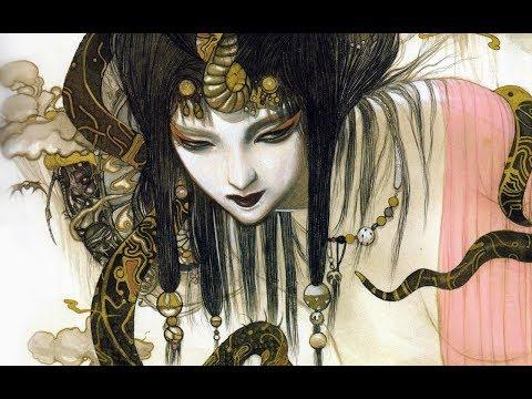 Sikut Sanga (Gamelan set to Yoshitaka Amano art)