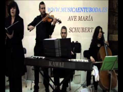 MUSICA EN TU BODA (MURCIA) AVE MARIA SCHUBERT