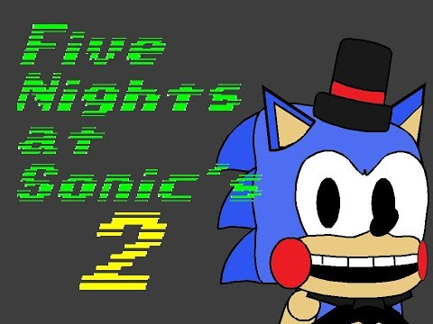Five Nights At Sonic's 2 Title Screen Remake V2