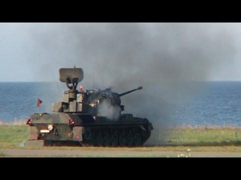 Dienstschluss des Gepards in der Bundeswehr
