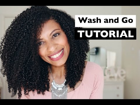 Wash and Go -  Natural Hair | Eleanor J'adore | South African Beauty Blogger