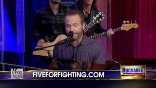 9-21-13 Huckabee: Five for Fighting performs 'What If'