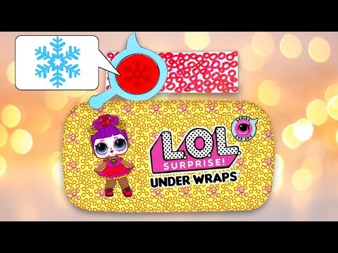 Opening 2D Paper Custom Decoder Eye Spy Under Wraps LOL Surprise Dolls #13
