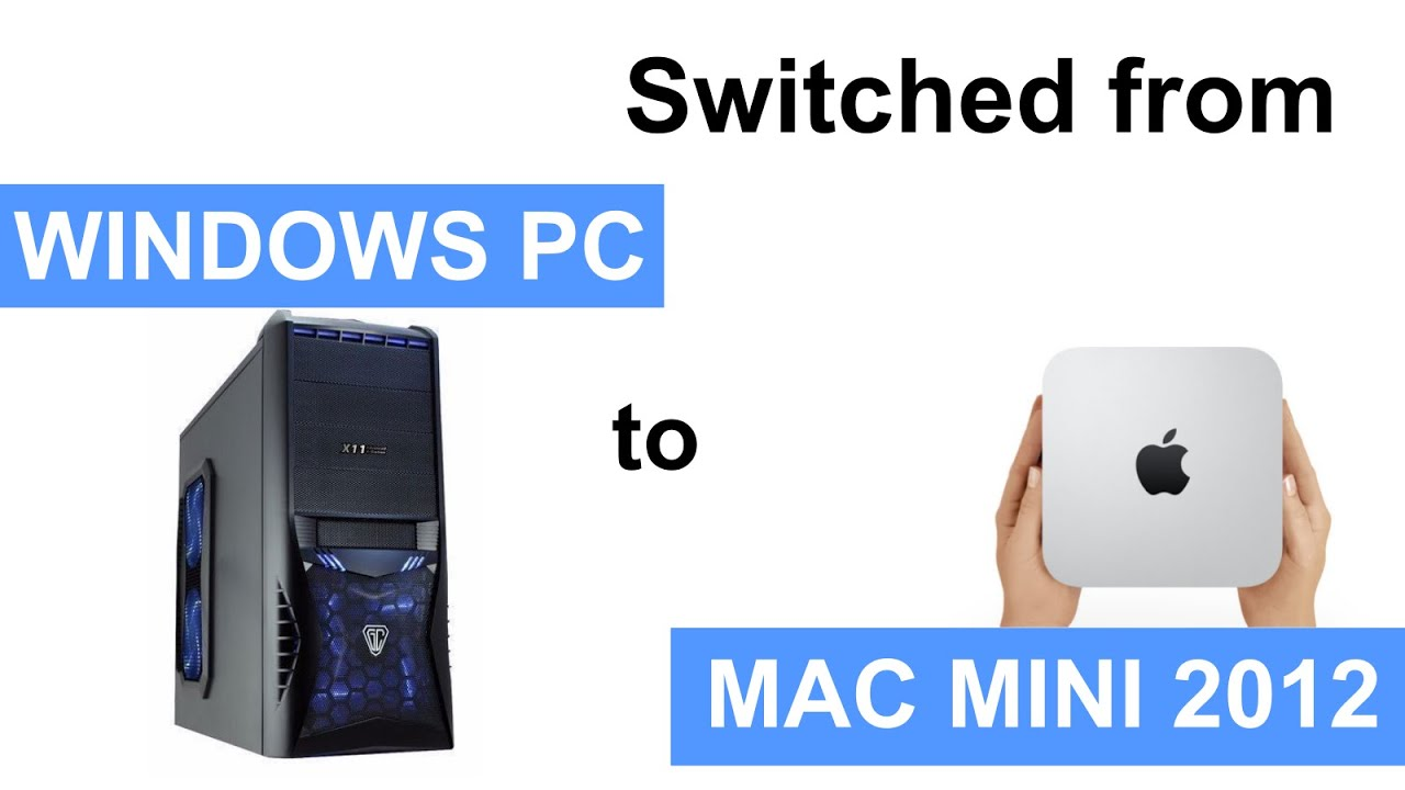 Switch from PC to Mac Review - YouTube