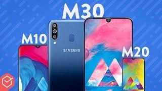 GALAXY M10, M20 e M30: novos SMARTPHONES SAMSUNG explicados!