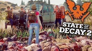 STATE OF DECAY 2 - HOSTIS FIZERAM UMA ARMADILHA PRA MIM #33 (Sobrevivência e Apocalipse Zumbi)