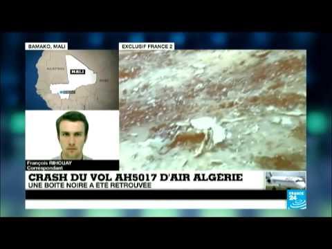 Crash du vol AH5017 d'Air Algérie : une boîte noire retrouvée sur les lieux