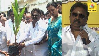 Captain Vijayakanth's birthday celebrations with social work   Latest Speech 2016