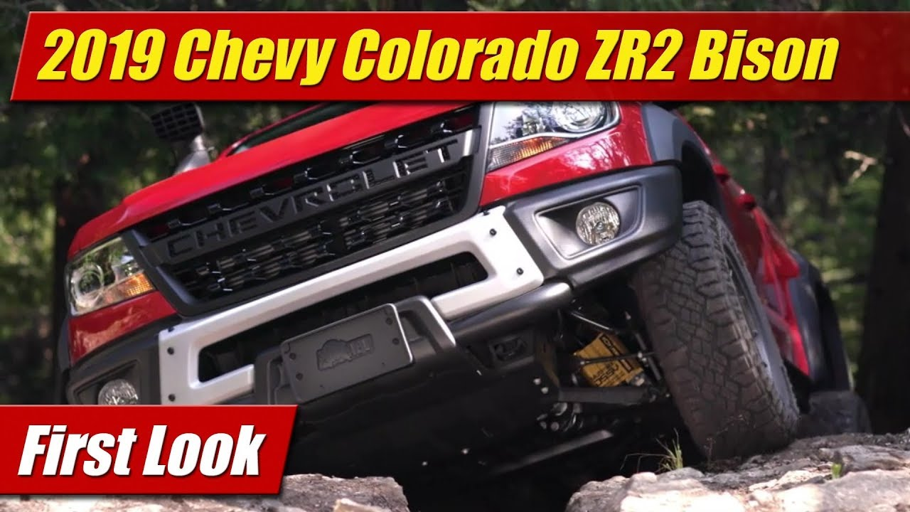 2019 Chevrolet Colorado ZR2 Bison: First Look - YouTube