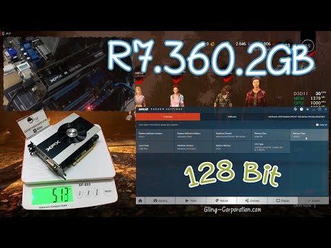 XFX R7 360P 2GB 128Bit Review การ์ดจอโดย •   Gling-Corp  