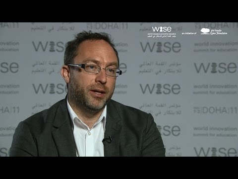 Wikipedia founder Jimmy Wales: small donors are the backbone of our business Model