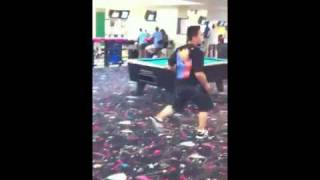 BBoy J-Ten at FastLanes Bowling Alley