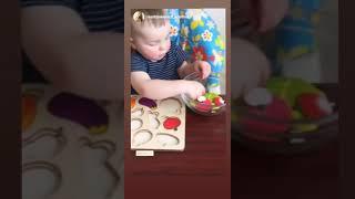 Овощи разрезные нескучные игры 2