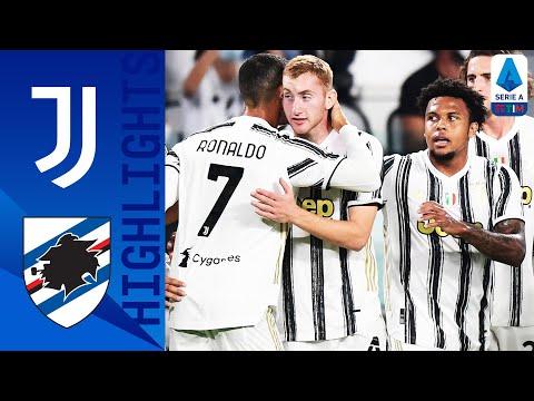 Juventus 3-0 Sampdoria | Tris alla Samp con Kulusevski, Bonucci e CR7 | Serie A TIM