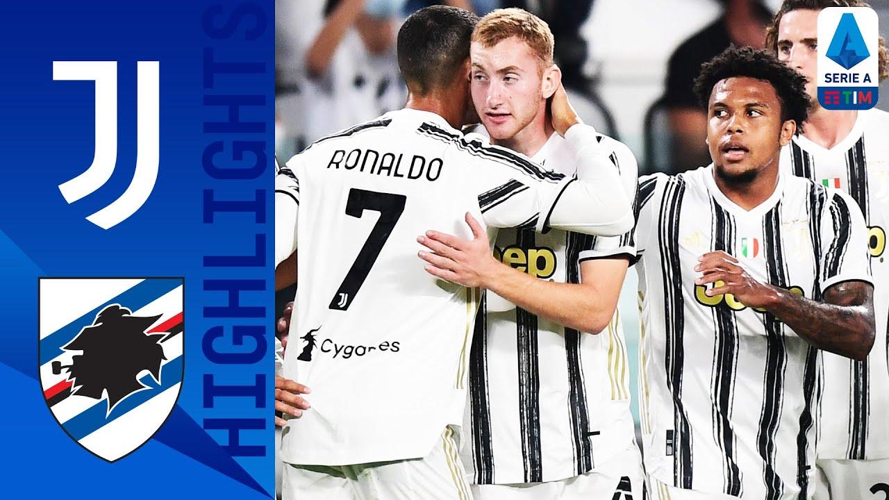 Juventus 3 0 Sampdoria Video Highlights Serie A 2020
