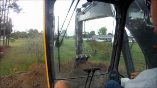 Excavator Loading Dump Truck