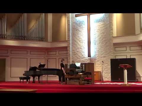 Taylor Hendershott's and Shiloh Six's Junior Recital