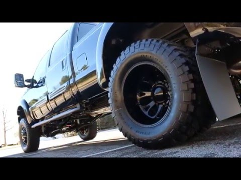 """F350 Black Ops by Tuscany Fully Loaded 6"""" Lift"""