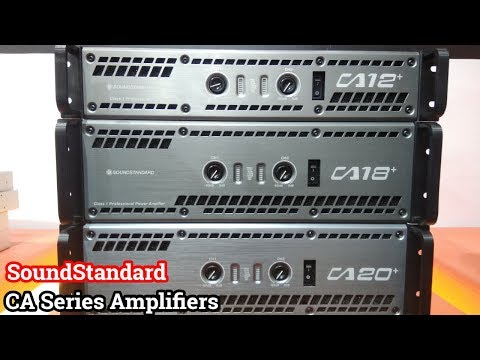 SoundStandard CA Power Amplifiers Overview | DJ Expo Mumbai | Delhi Vlogs