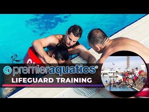 ALC Work and Travel in USA | Premier Aquatics' Lifeguard Training 2017
