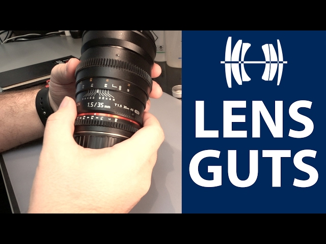 LENS GUTS - Rokinon 35mm Cine DS
