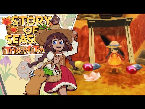 Riches of the Desert Mines!! • Story of Seasons: Trio of Towns - Episode #18