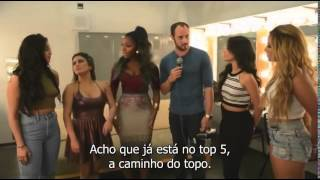 Fifth Harmony Interview with Dustin Kross legendado PT BR