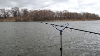 Рыбалка на Оке Ранней весной На Фидер