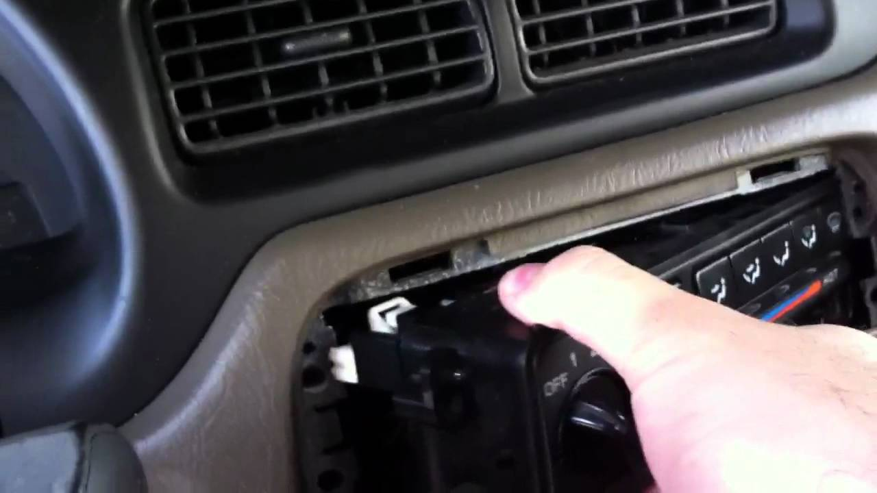 How To Change Out Hvac Bulbs On A 98 01 Nissan Altima