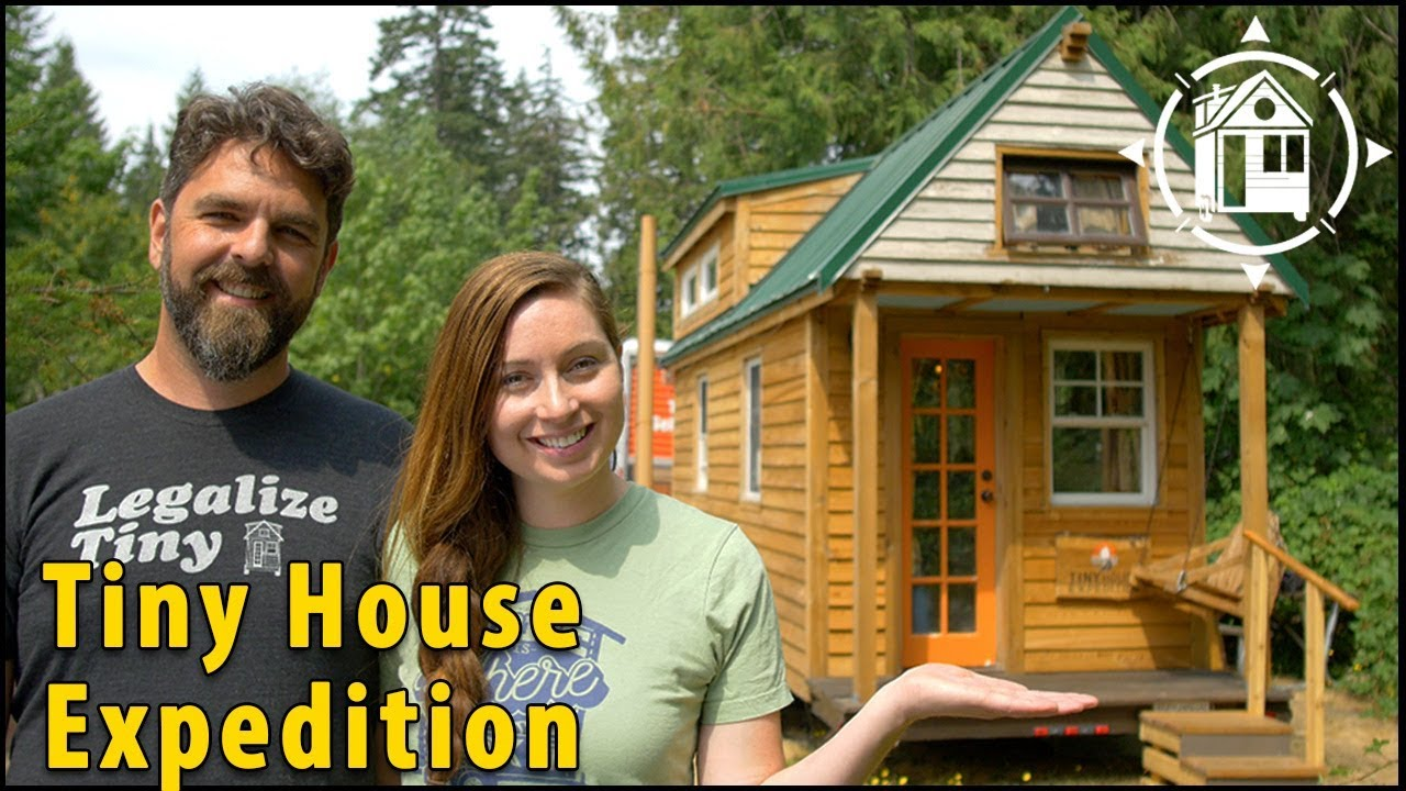 Tiny House Couple Lives A Life Of Adventure YouTube - Couple takes tiny house big adventure