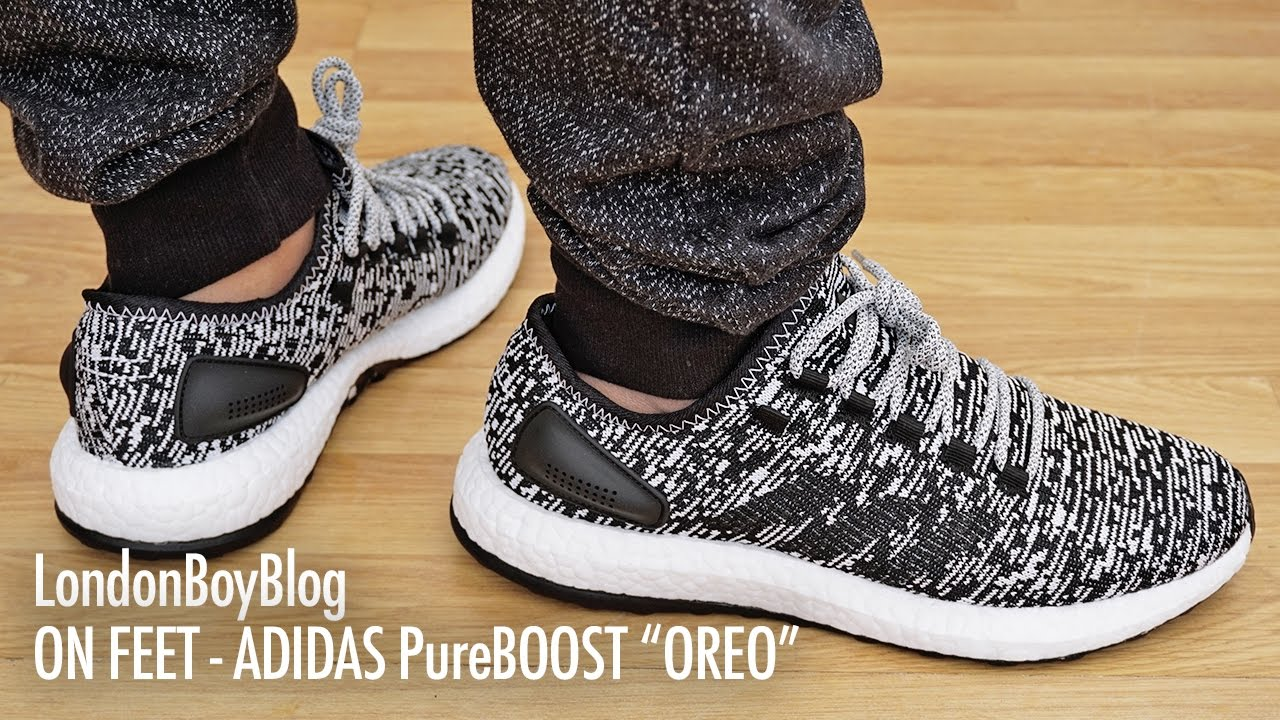 0dd154407ba4c On Feet - Adidas PureBOOST Oreo - YouTube