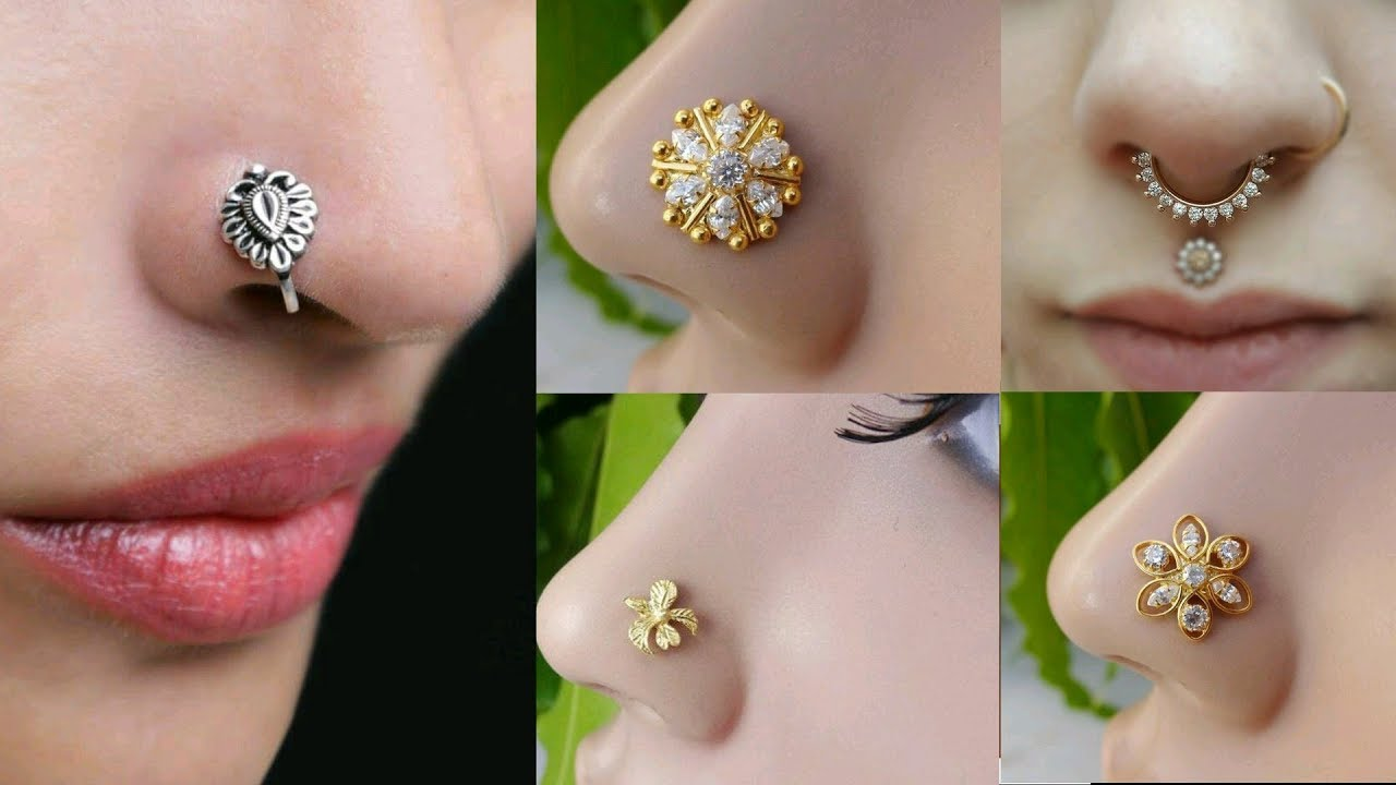 Top 40 Gold Nose Ring Gold Nose Stud Nose Ring Nose Studs