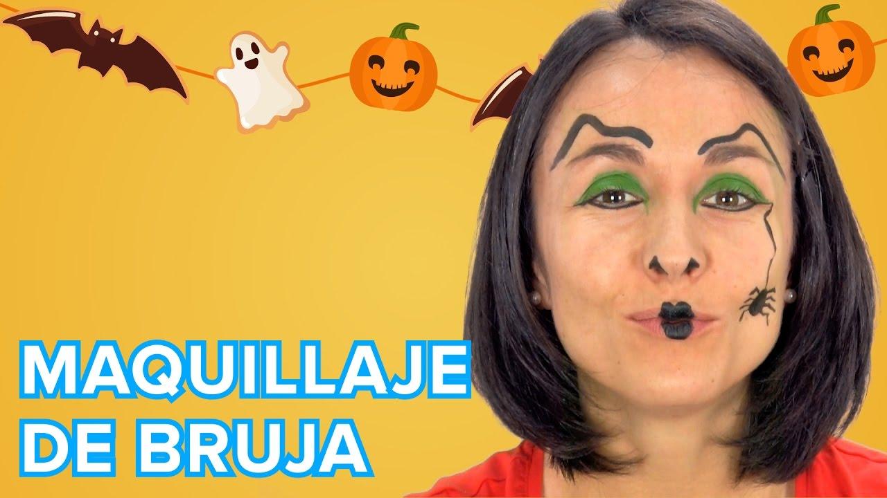 Maquillaje de Bruja para Halloween