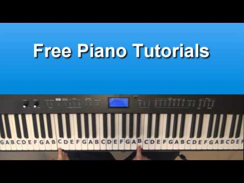 How To Play California King Bed by Rihanna On Piano - Tutorial
