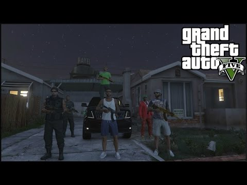 GTA 5 ONLINE - LIFE IN THE GHETTO - FAMILY ISSUES #1