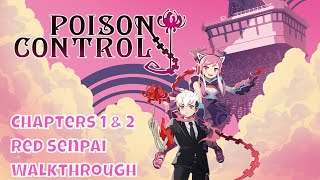 Poison Control PS4 Pro & NS Gameplay | Senpai Walkthrough Chapters 1 & 2 [R3D Gaming]