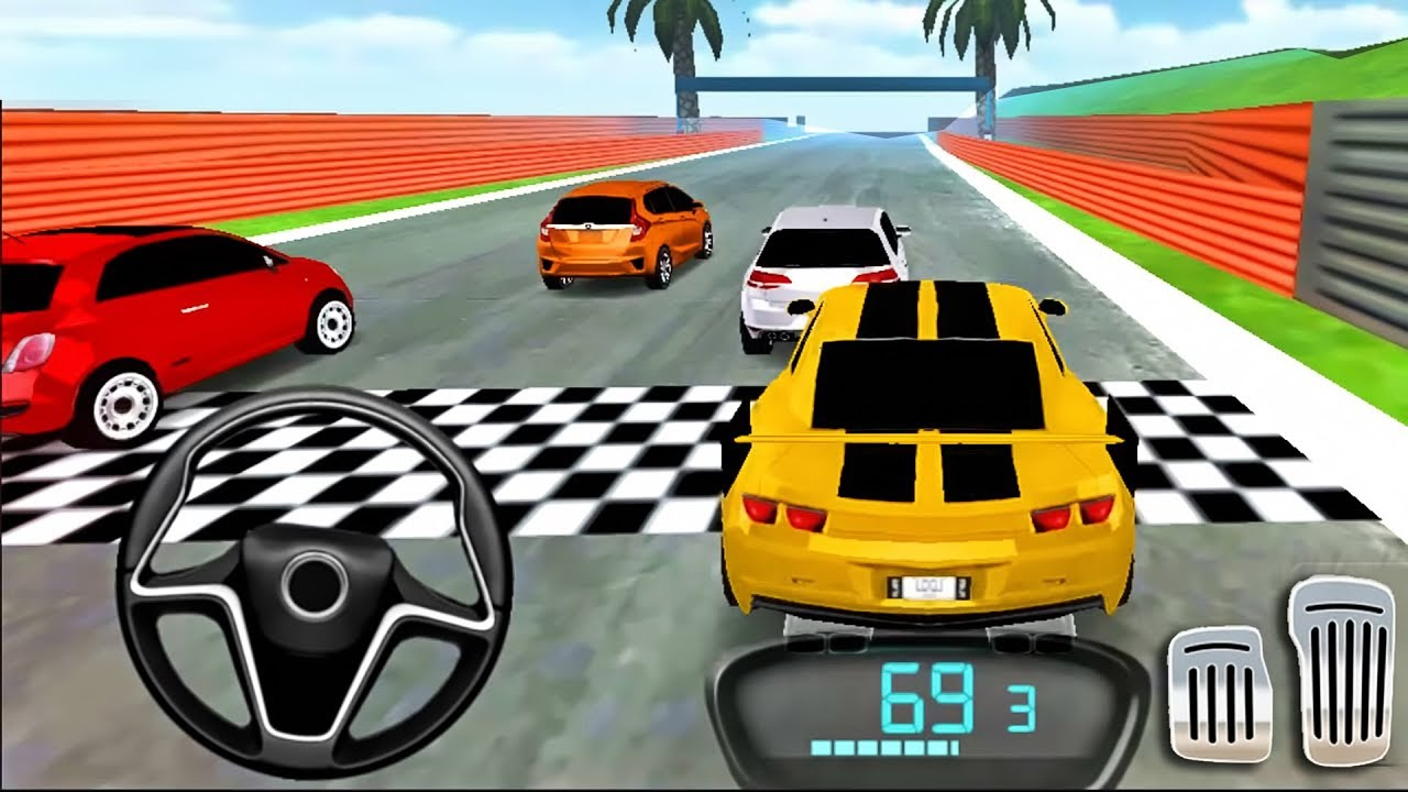 Drive For Speed: Simulator 2018 Car Driving | Unlocked: Sport Car Yellow, Red Car – Android GamePlay