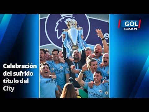 En imágenes: La consagración del Manchester City, como campeón de la Premier League | Gol Caracol