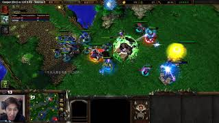 Cooper (Orc) vs 120 (UD) - WarCraft 3 - Overstayed Welcome - WC2525