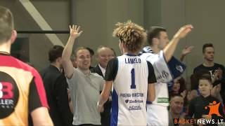 LaMelo and LiAngelo Ball first half highlights against Lietuvos rytas-2