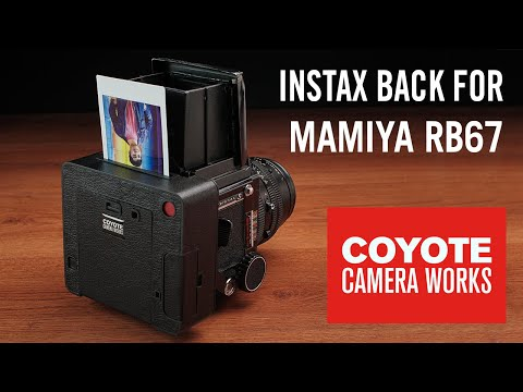 Instax Back For Mamiya RB67 | Coyote Camera Works