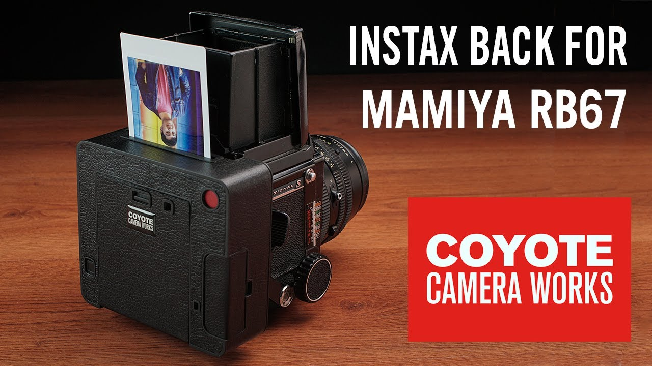 Instax back for Mamiya RB67   Coyote Camera Works