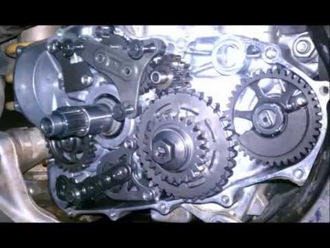 How Does An Electric Motor Work >> 06 HONDA CRF450X Kicktart essembly and starter motor ...